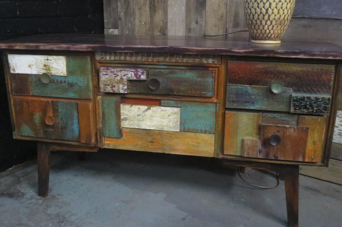 1960s Oak Sideboard