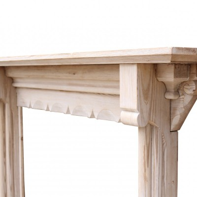Antique Stripped Pine Fire Surround