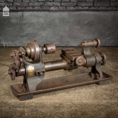 Small Early 20th Century Lathe by Drummond Bros.