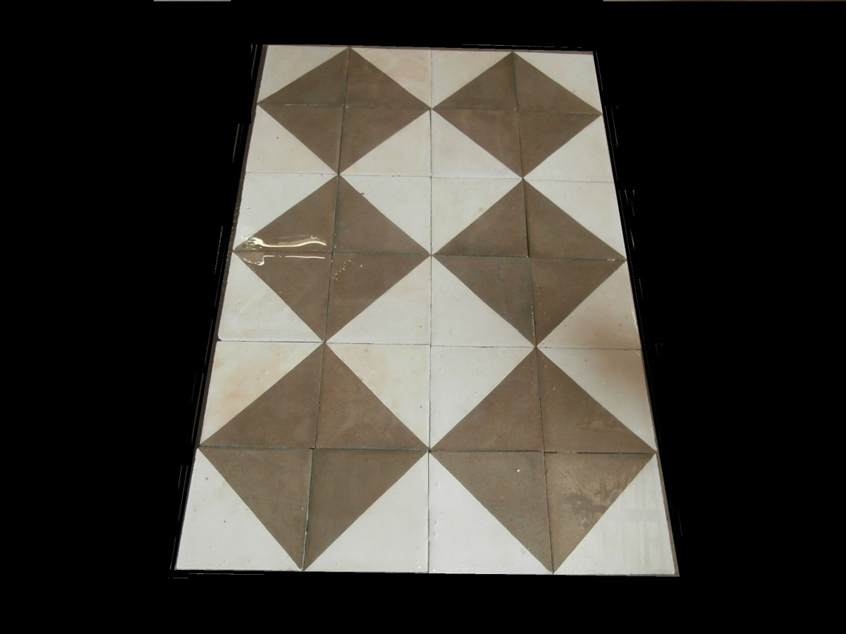Antique Victorian tiles - 9sqm