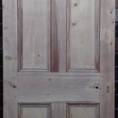 2 matching Victorian 4 panel pine doors.