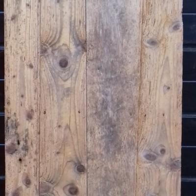 Rustic C19th ledged cupboard door