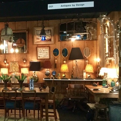 First day at the Battersea Decorative Fair