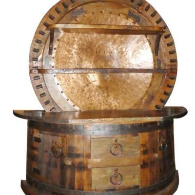 Custom Bar, Sugar Mill Wheel
