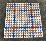 Antique cement patterned tiles
