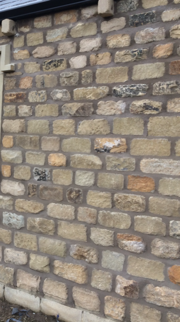 Reclaimed building stone By Chris Garside