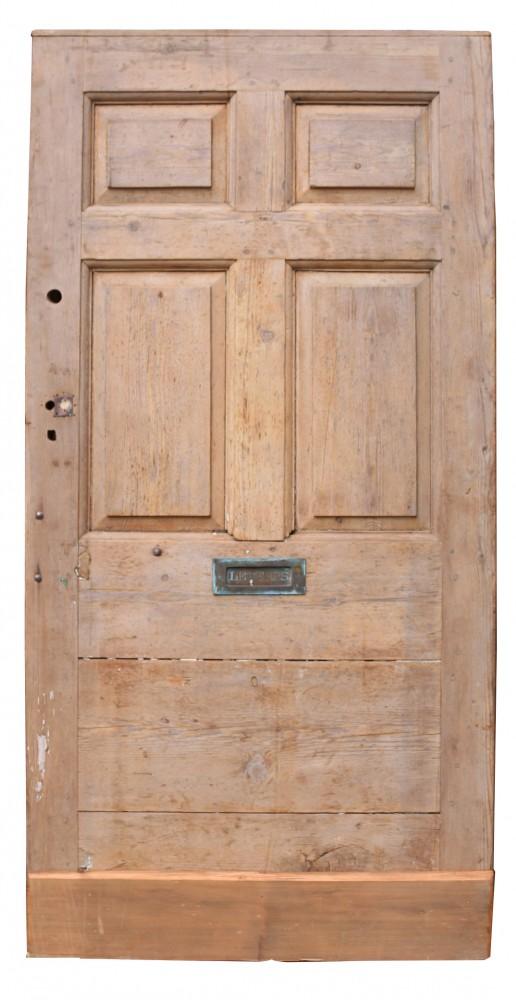 Antique English Pine Front Door