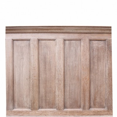 Victorian Limed Oak Wall Panelling