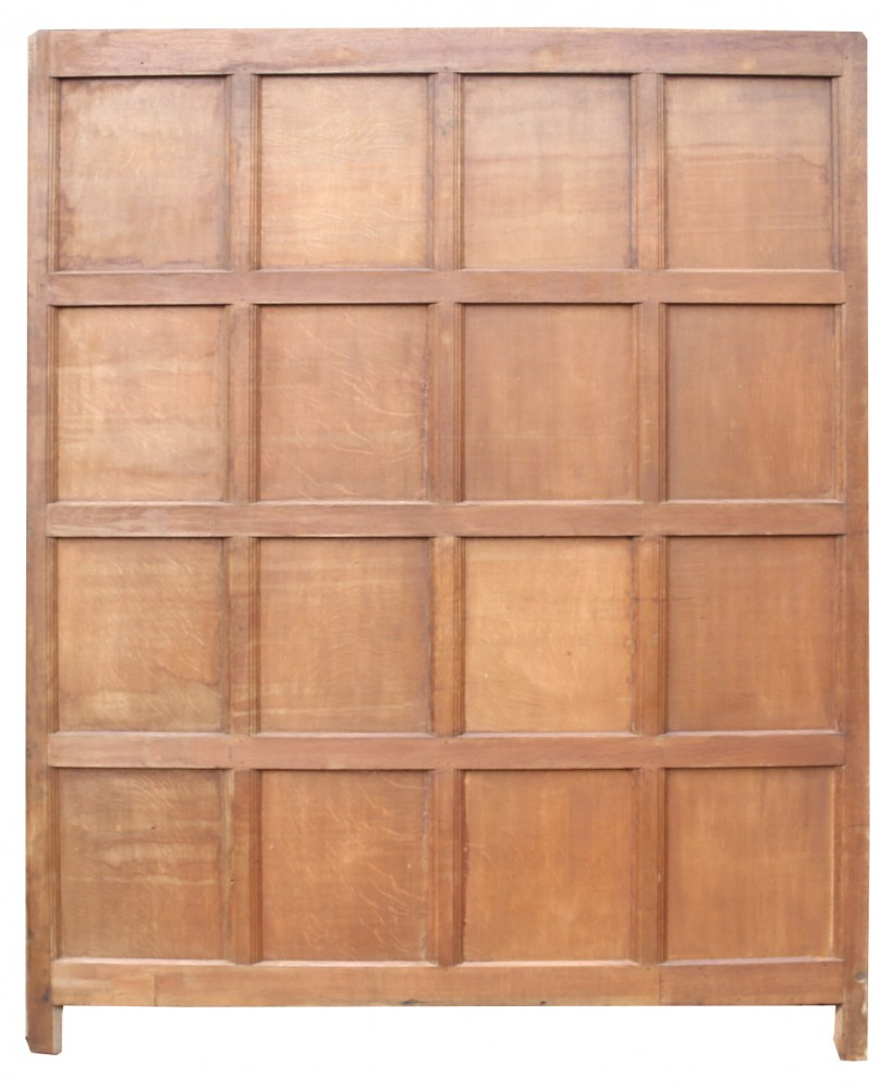 Run Of English Antique Oak Wall Panelling