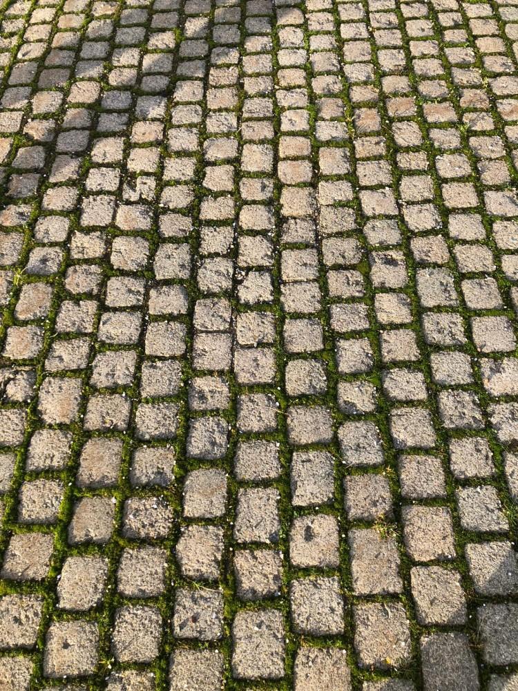 Cobblestone reclaimed