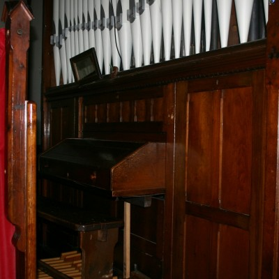 Victorian Organ Casing / screen panelling