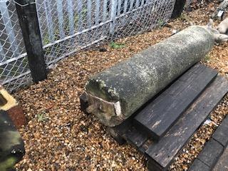 Reclaimed sandstone roller