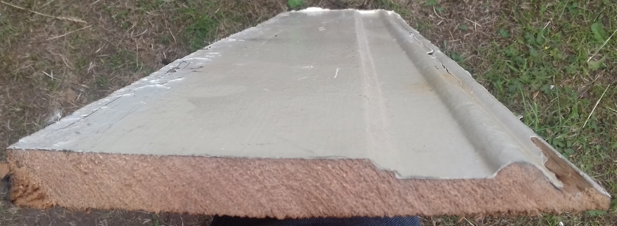 Victorian pine skirtingboard.