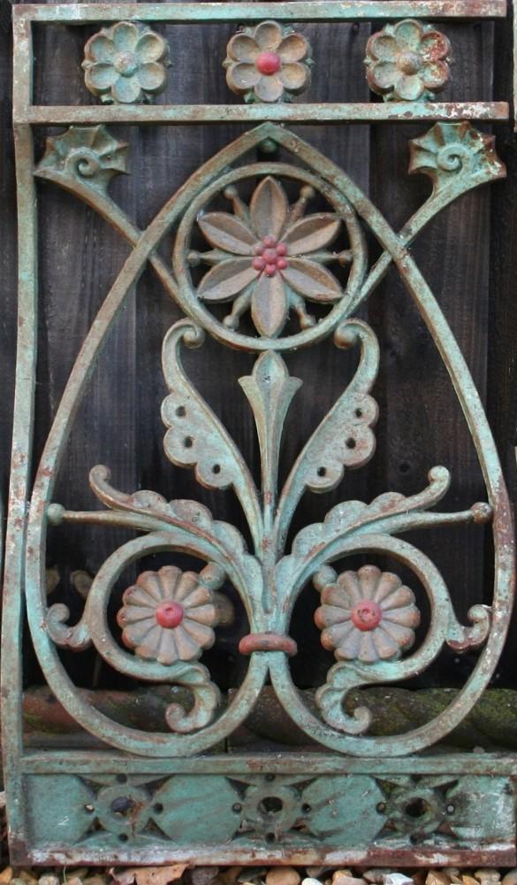 50 Antique Cast-iron Balustrades