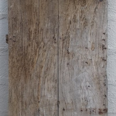 17th century ledged oak door