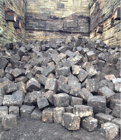 York Stone Cobbles - Setts
