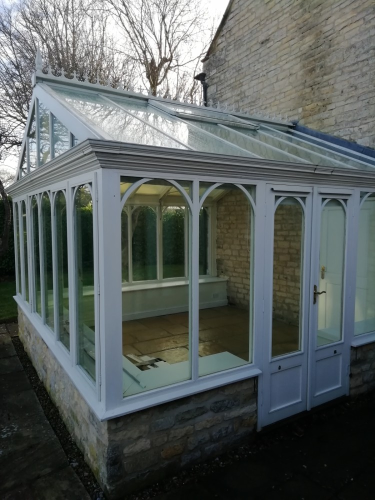 For Sale Amdega Richardson Wood Conservatory Double