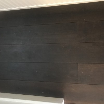 Dark Brown/Grey-ish 180mm wide floorboards