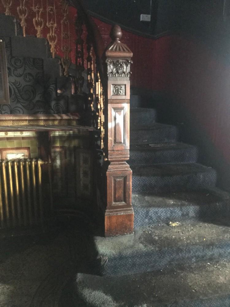 Victorian Yorkstone Staircase