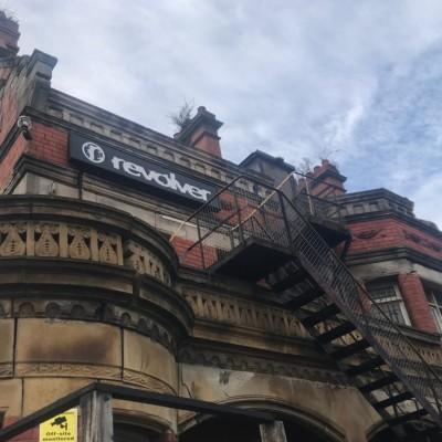 Victorian Stone Balcony
