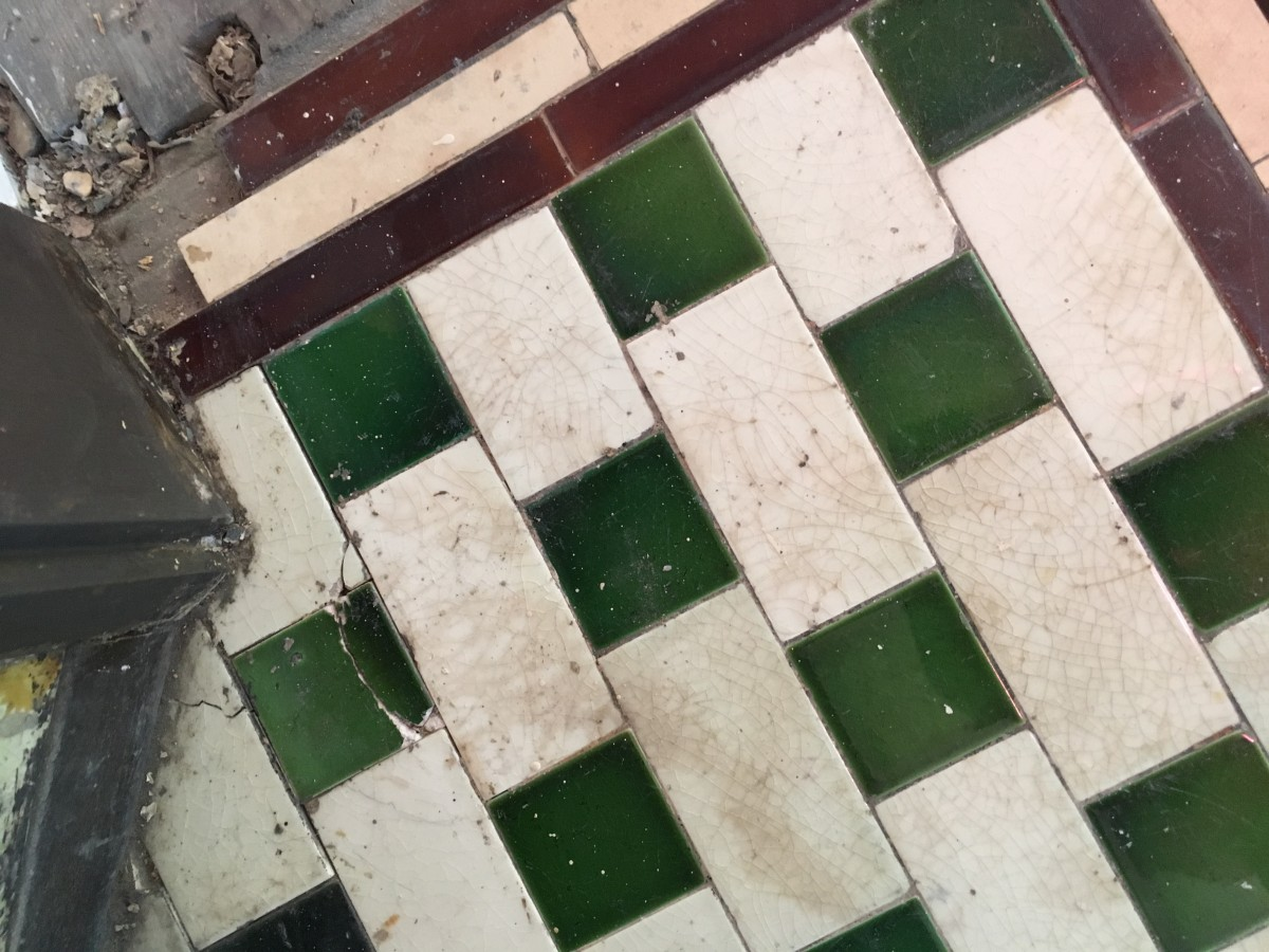 Tiles - interior, glazed