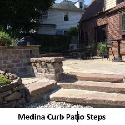 Medina Sandstone Curbing