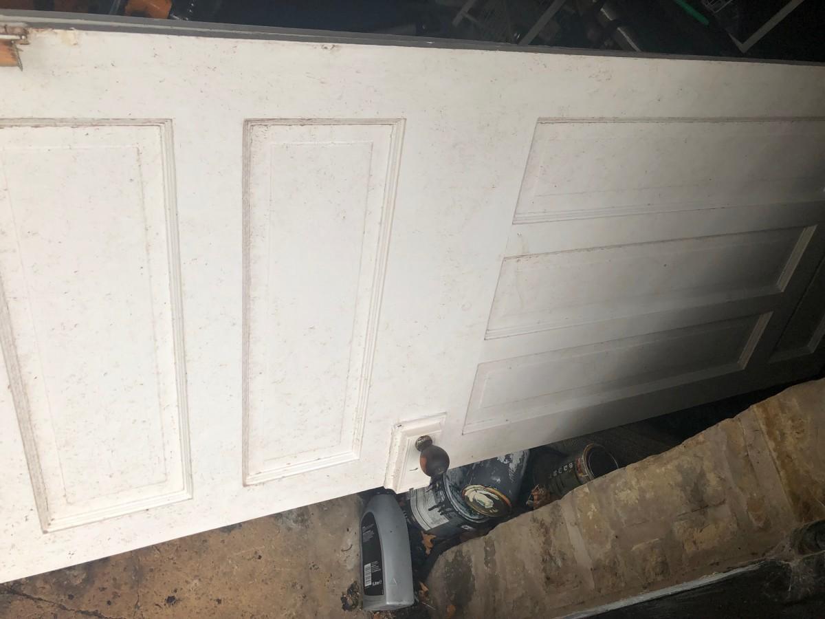 2 Edwardian paneled doors