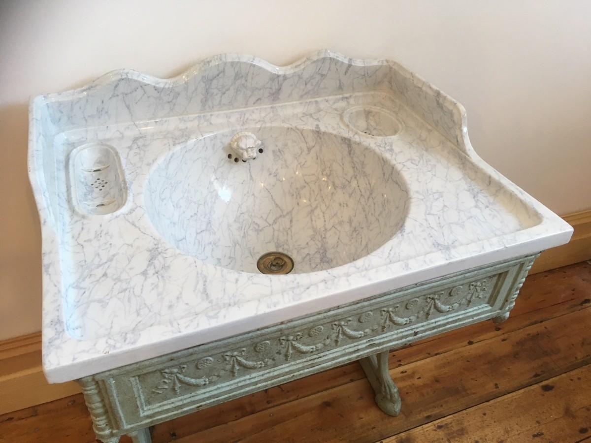 Rare 19th Century ceramic sink