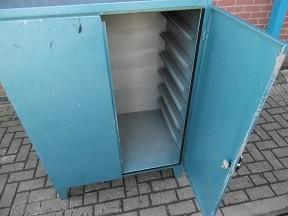 Blue Metal Cabinet