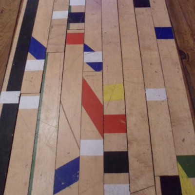 Canadian maple sporst hall flooring