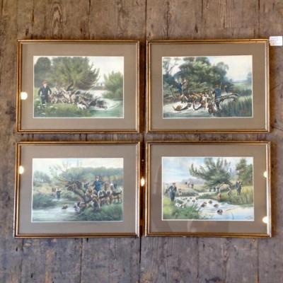Hunting Prints by Thomas Ivester Lloyd