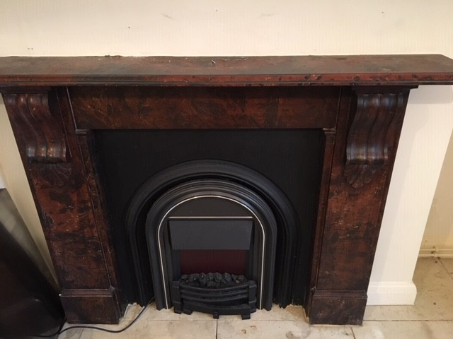 Victorian Fireplace c1880