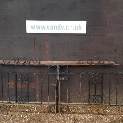 Reclaimed Iron Entranceway Gates