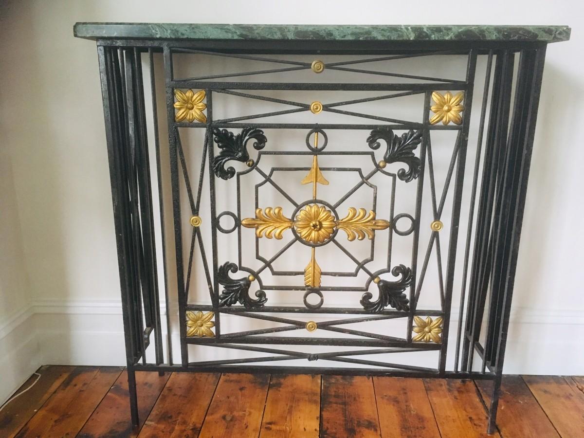 Antique Reclaimed Listings A Beautiful Art Deco Radiator Cover Salvoweb Uk