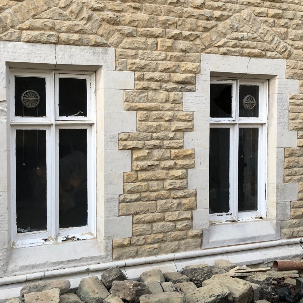 Reclaimed Timber Windows