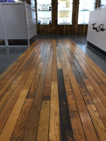 Reclaimed 58 mm Oak Strip Flooring