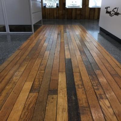 Reclaimed 58 mm Oak Strip Flooring