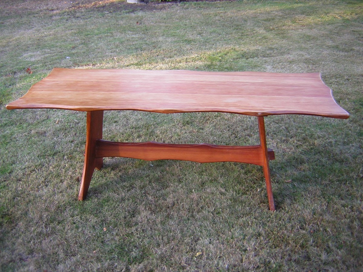 aeb4299136ca8 For Sale Pine Table -