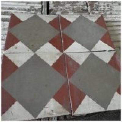 Antique encaustic tiles - 25sqm