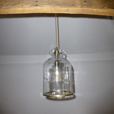 Reclaimed upcycled lighting made from salvaged items