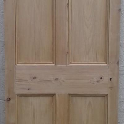 Victorian 4 paneled pine door.