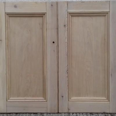Victorian cupboard doors.