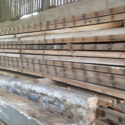 Reclaimed roofing spars