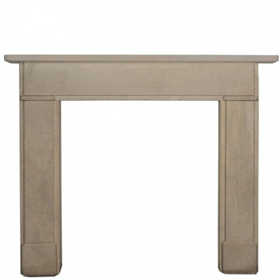 Georgian Style Bath Stone Fire Surround (matching pair available)