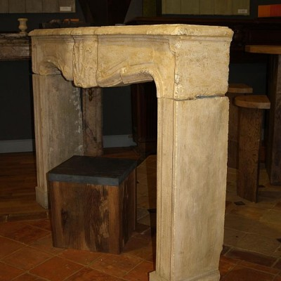 cheminee pierre Louis XIV / Antique French Fireplace