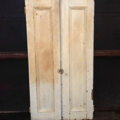 """Antique Window Shutters - 29"""" x 56.5"""""""