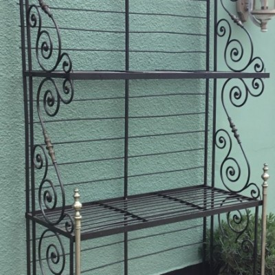 Vintage French Bakery Shop Display Stand