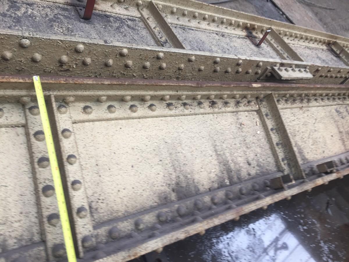 Dismantling & Demolition riveted beams / plate girder