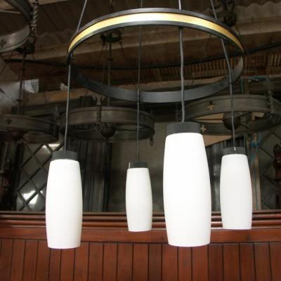 5 church chandeliers  light fittings 1960s