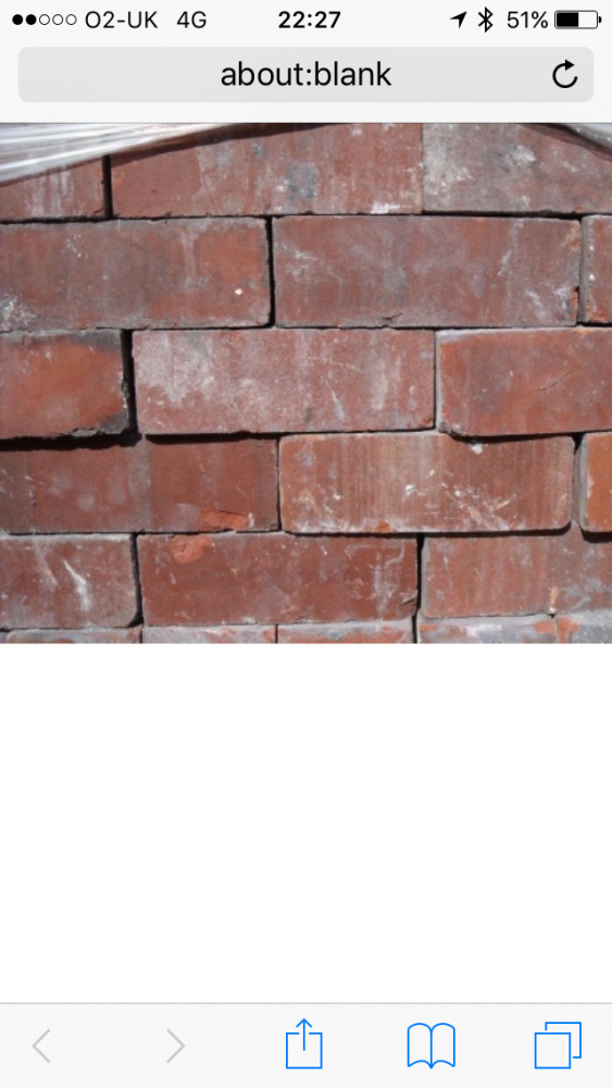 Accrington reclaimed brick